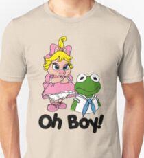 Muppet Babies - Kermit & Miss Piggy - Oh Boy T-Shirt