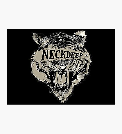 Neck Deep Logo Photographic Print