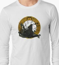Looking Through A Porthole Of Memories Long Sleeve T-Shirt