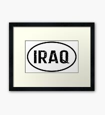 Iraq Framed Print