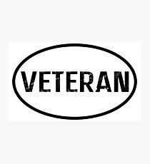 Veteran Photographic Print