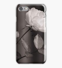 Floral Black White iPhone Case/Skin