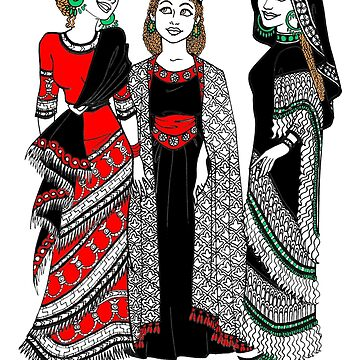 Assyrian Women Color by AssyrianGear