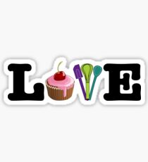 Love Baking Sticker