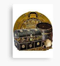 A Gathering Of Pirate Gold Canvas Print