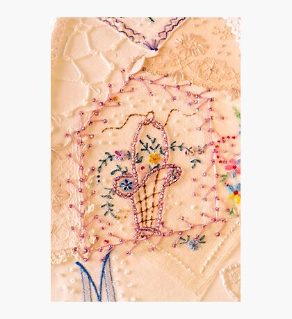 Vintage Lampshade Panel Detail Photographic Print