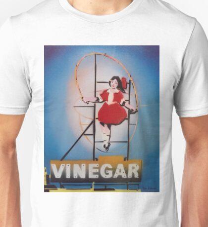 Skipping Girl Vinegar Unisex T-Shirt
