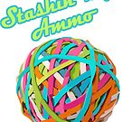 Ammo Stash Rubberband Ball Funnies by doonidesigns