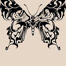 Tribal Butterfly by TurkeysDesign