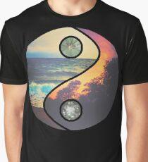 "CHILL VIBES ""YANG"" Graphic T-Shirt"