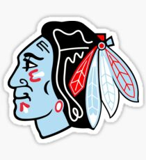 Blackhawks Logo - Chicago Theme Sticker