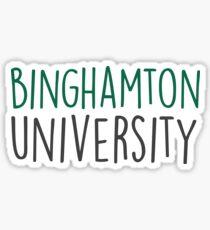 Binghamton University - HANDWRITTEN  Sticker