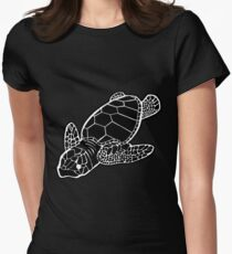 Hatchling Womens Fitted T-Shirt