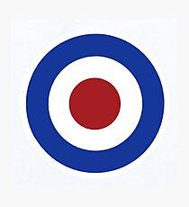 RAF Target Photographic Print