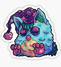 Furby Sleeper Sticker