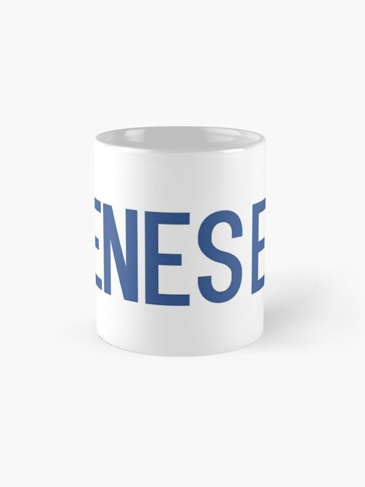 Alternate view of Geneseo Mug