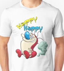 Happy Happy Stimpy Gas Unisex T-Shirt