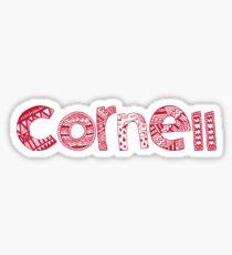 Cornell - HANDWRITTEN Sticker