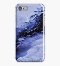 Winter waterfall iPhone Case/Skin