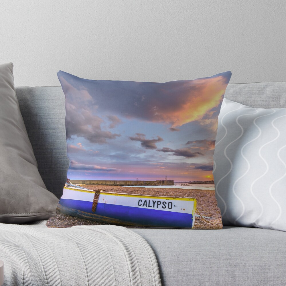 Calypso Throw Pillow