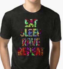 Eat Sleep Rave Repeat Tri-blend T-Shirt