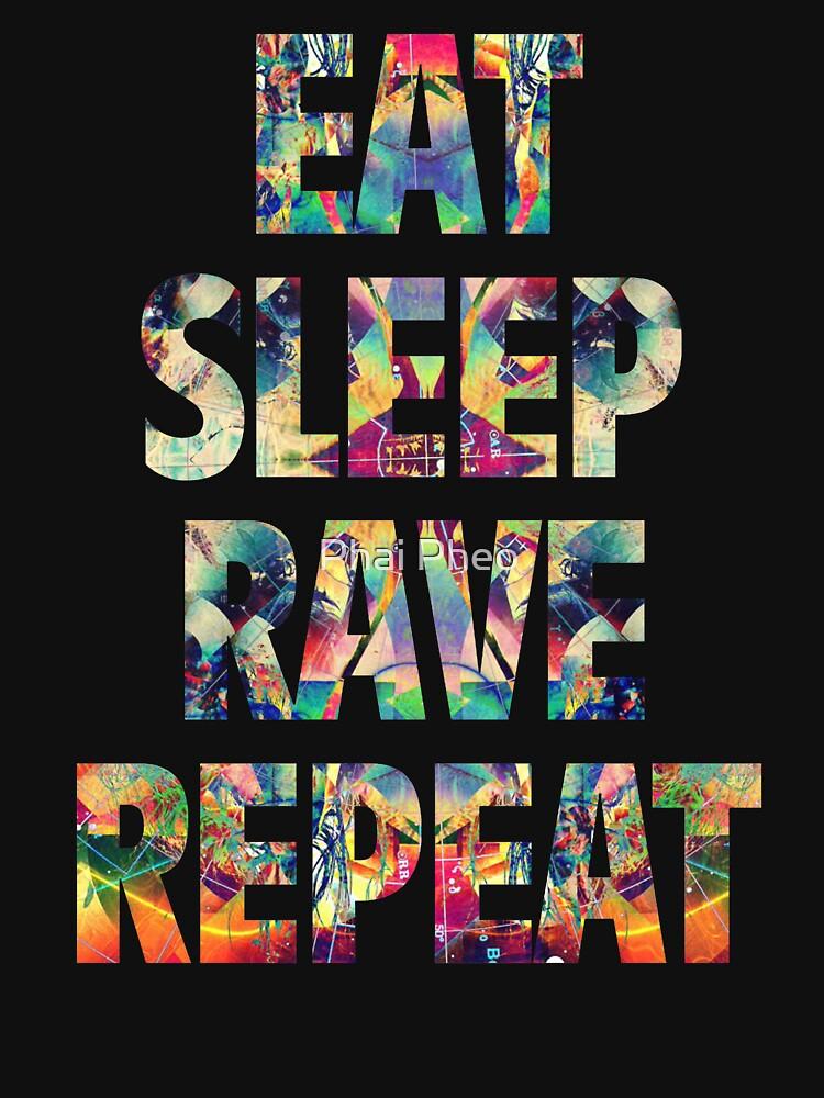 Eat Sleep Rave Wiederholen von filiteo