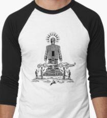 King For A Day Men's Baseball ¾ T-Shirt