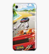 California OutRun SEGA utopian heaven arcade racer iPhone Case/Skin