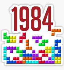 tetris 84 Sticker