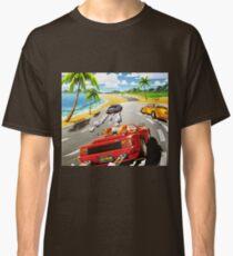 California OutRun SEGA utopian heaven arcade racer Classic T-Shirt
