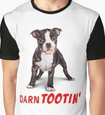 Boston Terrier Puppy - Darn Tootin' Graphic T-Shirt