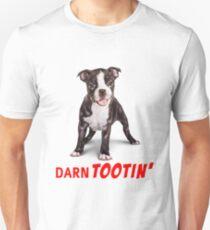 Boston Terrier Puppy - Darn Tootin' T-Shirt