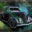 Matt Black Coupe by Keith Hawley
