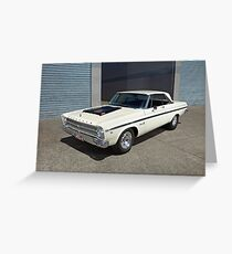 Plymouth Belvedere II Greeting Card
