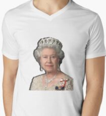 GOD SAVE THE QUEEN Men's V-Neck T-Shirt