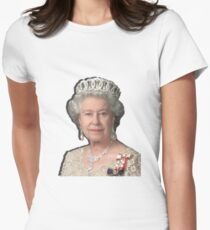 GOD SAVE THE QUEEN Women's Fitted T-Shirt
