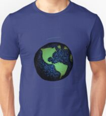 Sketched Earth T-Shirt