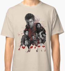 Spartacus and his rebel leaders Classic T-Shirt