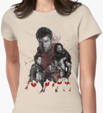 Spartacus and his rebel leaders Women's Fitted T-Shirt
