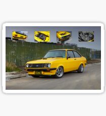 Ford Mk2 RS2000 Escort Sticker