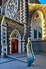 Christchurch & the Risen Christ by Werner Padarin