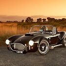 Black 1965 Shelby Cobra 427 Replica by John Jovic
