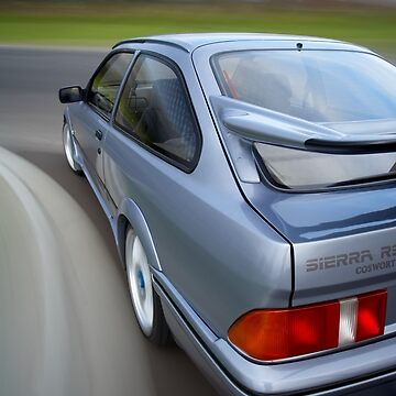 Ford Sierra RS Cosworth rig shot by jjphoto