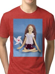 Celebrate Felt Doll Tri-blend T-Shirt