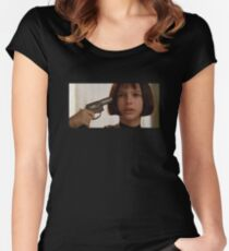 Mathilda the Professional Women's Fitted Scoop T-Shirt