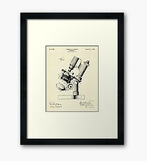 Microscope-1899 Framed Print