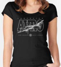 Lancaster Bomber Women's Fitted Scoop T-Shirt