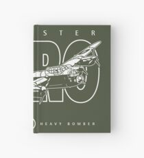 Lancaster Bomber Hardcover Journal