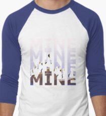 Meine - Möwe Baseballshirt für Männer
