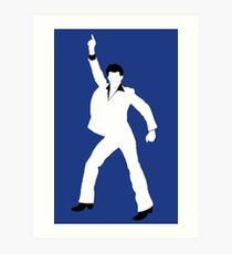 Saturday Night Fever Art Print